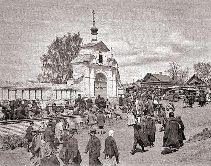 село Бор Семеновского у. Нижегородской г.