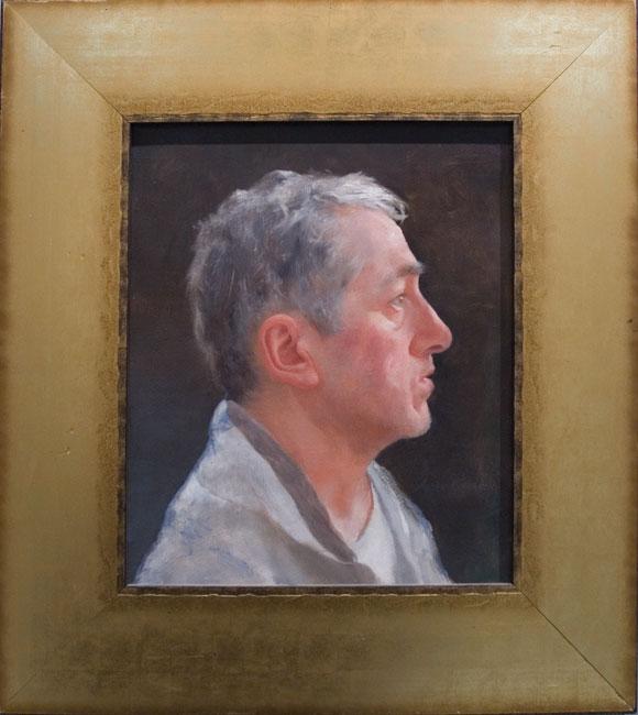 Портрет Д. Ахриева