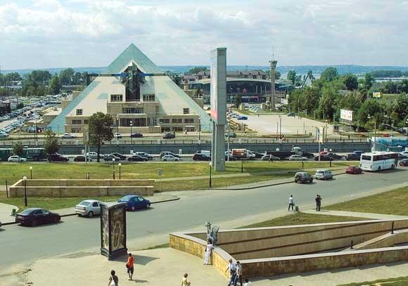 Казань крк Пирамида