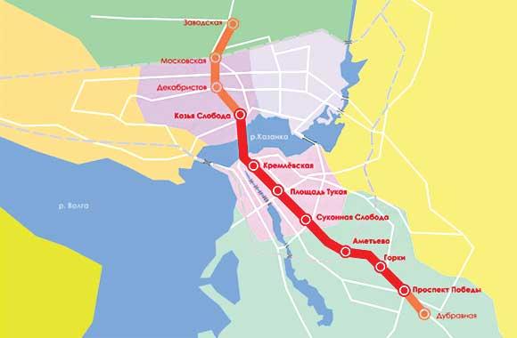 трамвайный маршрут № 5 от
