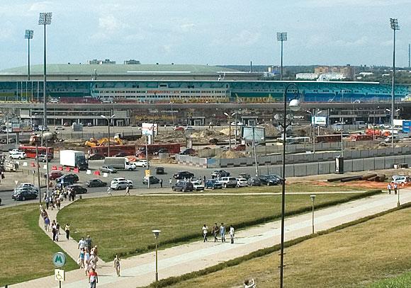 Основная часть стадиона