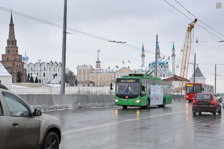 ленинская дамба казань