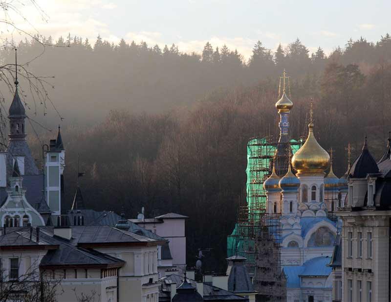 Карловы Вары церковь Петра и Павла