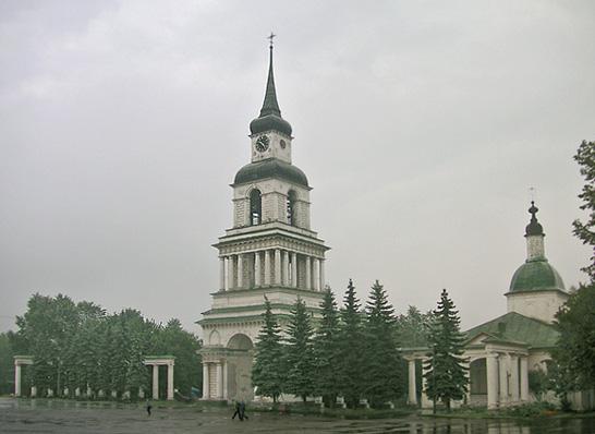 г. Слободской колокольня Преображенского собора