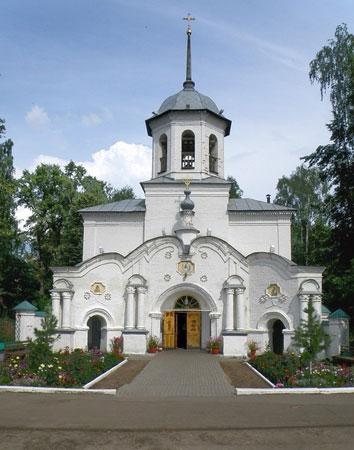 г. Слободской Кладбищенская церковь