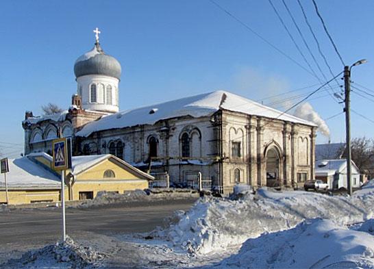 г. Слободской Духосошественская церковь