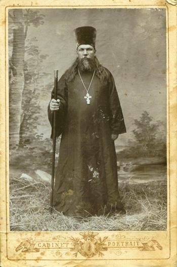 Николай Селивановский священник с. Кичма